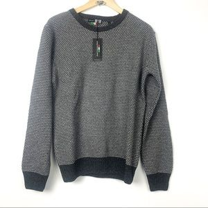Horst Cashmere wool blend sweater L grey